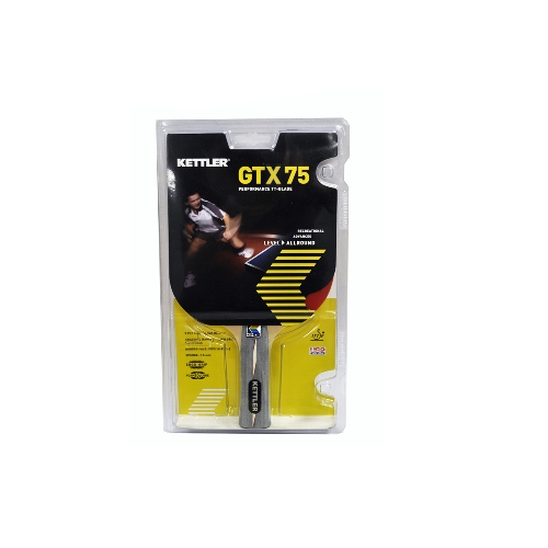 Kettler GTX-75 Table Tennis Racket WITH FREE 6-PACK OF TABLE TENNIS BALLS