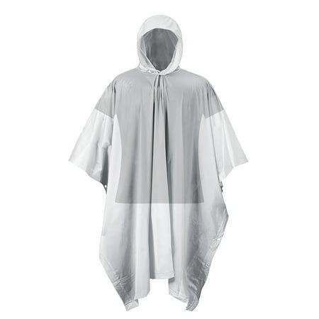 RPS TRAVEL/EMERGENCY RAIN PONCHO CLEAR