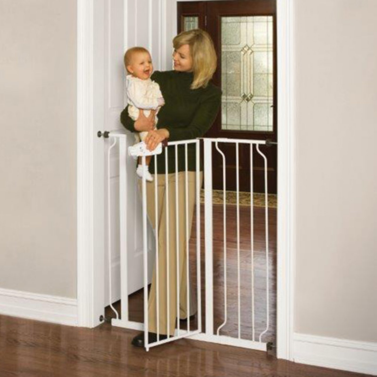 "Regalo Extra Tall Baby Gate, 29""-40"" with Walk Through Door"