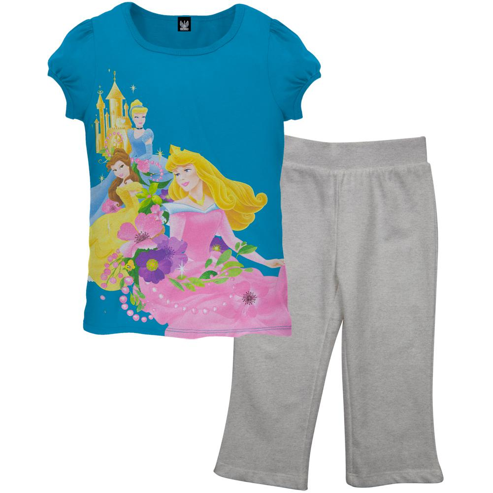 Disney Princess - Golden Garden Juvy Capri Set