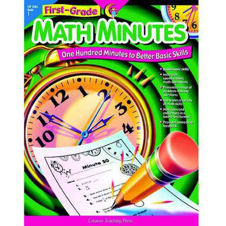 Creative Teaching Press Math Minutes, Multiple Grades