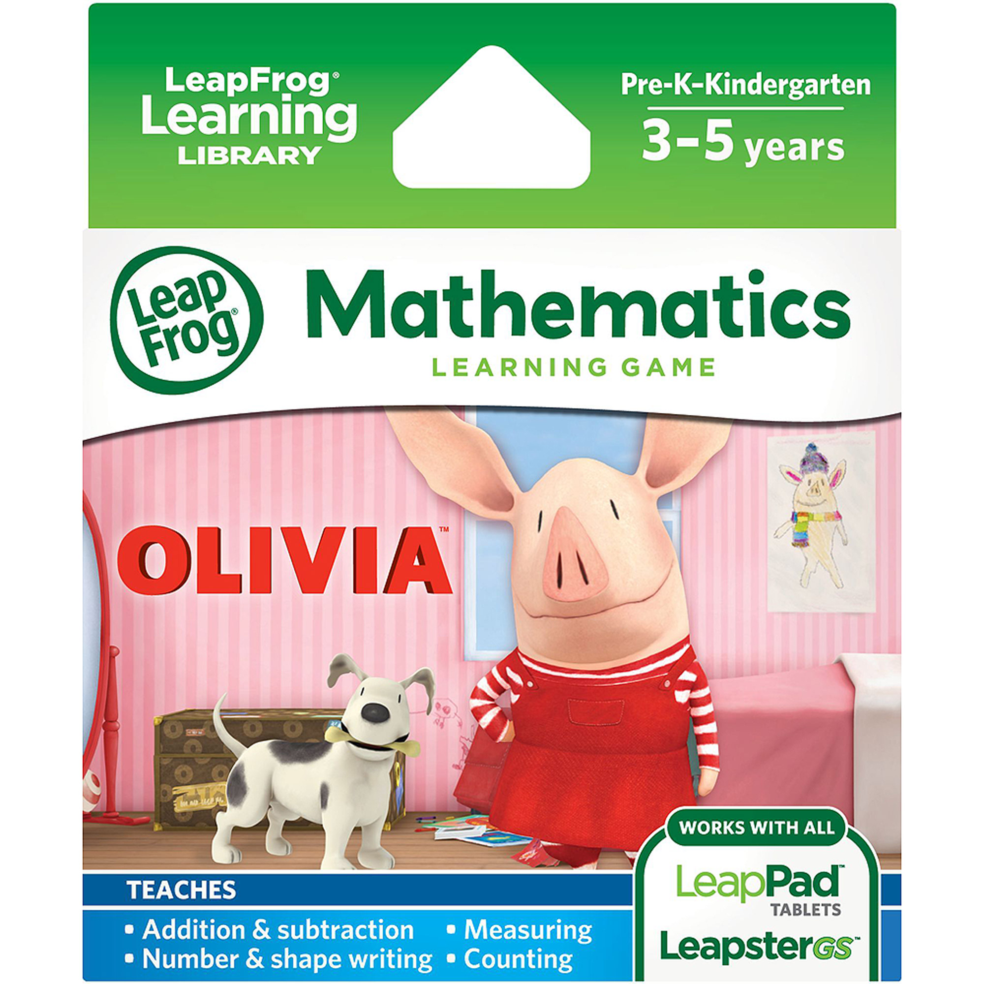 LeapFrog Explorer Learning Game, Olivia by LeapFrog