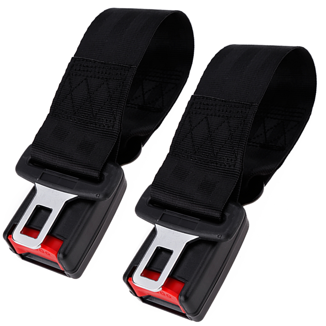 2pcs Universal Car Seat Belt Extender Safety With Buckle (Note Just Fit Car  Buckle Width