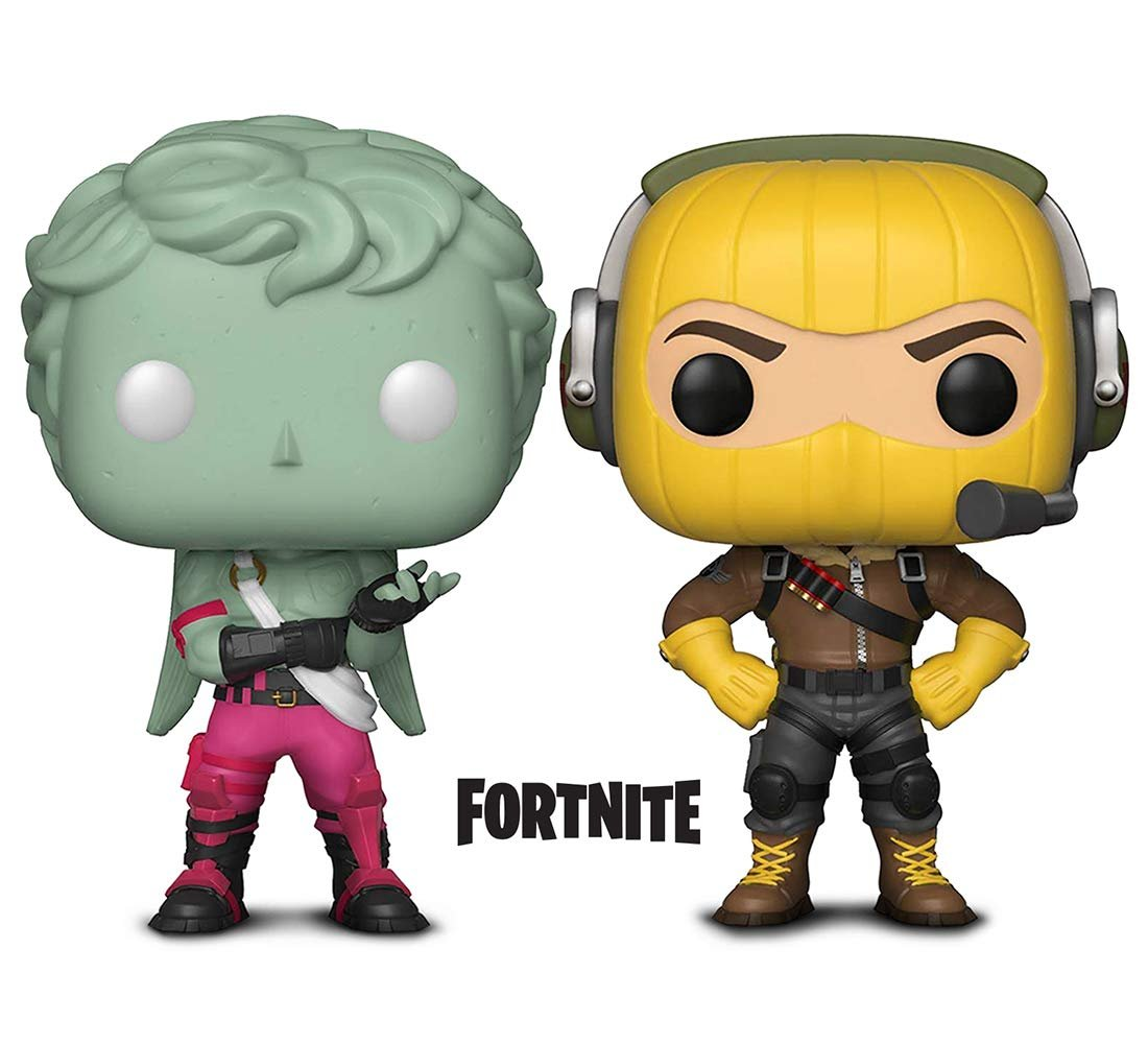 Warp Gadgets Bundle - Funko Pop GamesFortniteS1 - Raptor and Love Ranger (2 Items)
