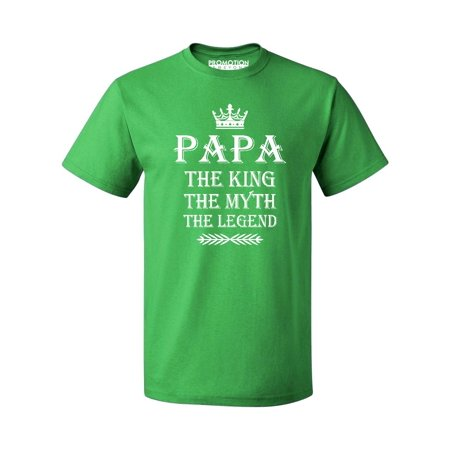 Promotion Beyond Papa King Myth Legend Father S Day Gift Men T Shirt Green M