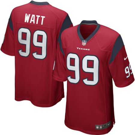JJ Watt Houston Texans Nike Alternate Game Jersey - Red (Custom Texans Jersey)