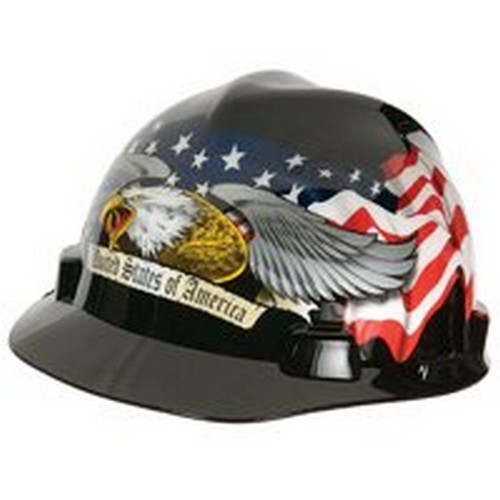 Amercian Eagle V Gard Hard Hat Msa Safety Works Respiratory Protection 10124207