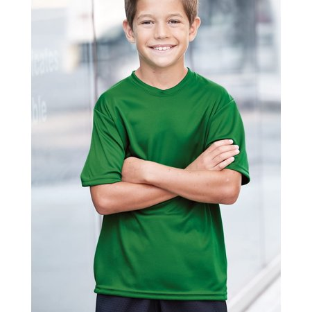 C2 Sport T-Shirts Youth Short Sleeve Performance T-Shirt (Sleeve Youth Tee)