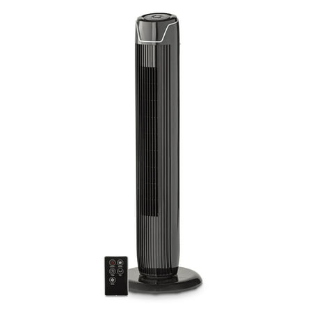 "Mainstays 36"" TOWER FAN BLK, FZ10-19JR, BLACK"