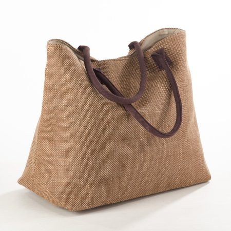 Saro Lifestyle Taleen Collection Classic Design Jute Hobo Bag