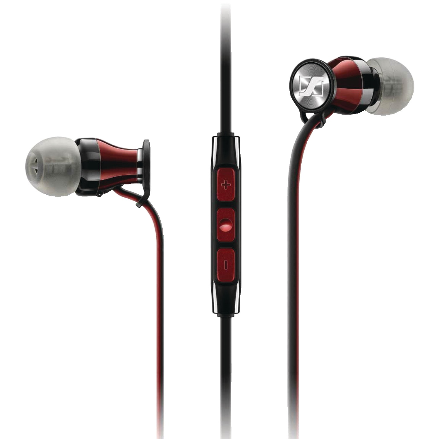 Sennheiser 507408 HD 1 In-Ear Headphones for Samsung Galaxy & Android (Black/Red)