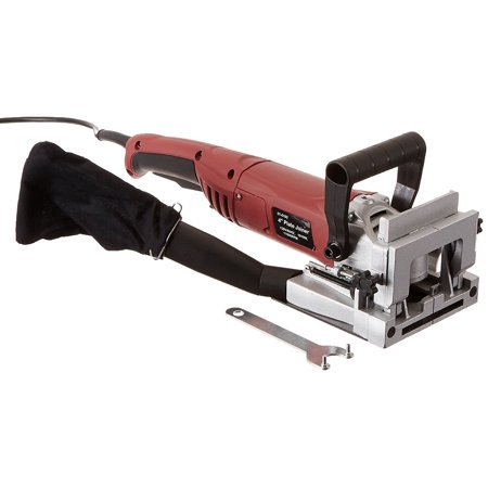 (Gino Development 01-0102 TruePower Biscuit Plate Joiner with Carbide Tipped Blade, 4