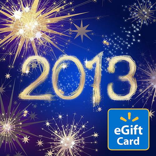 2013 Walmart eGift Card