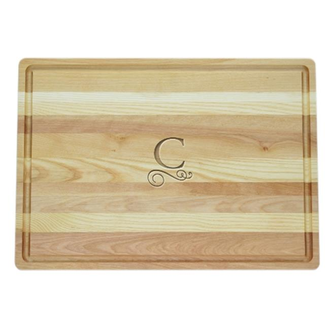 Carved Solutions Master Collection Wooden Cutting Board Large-Pi-Flourish-F