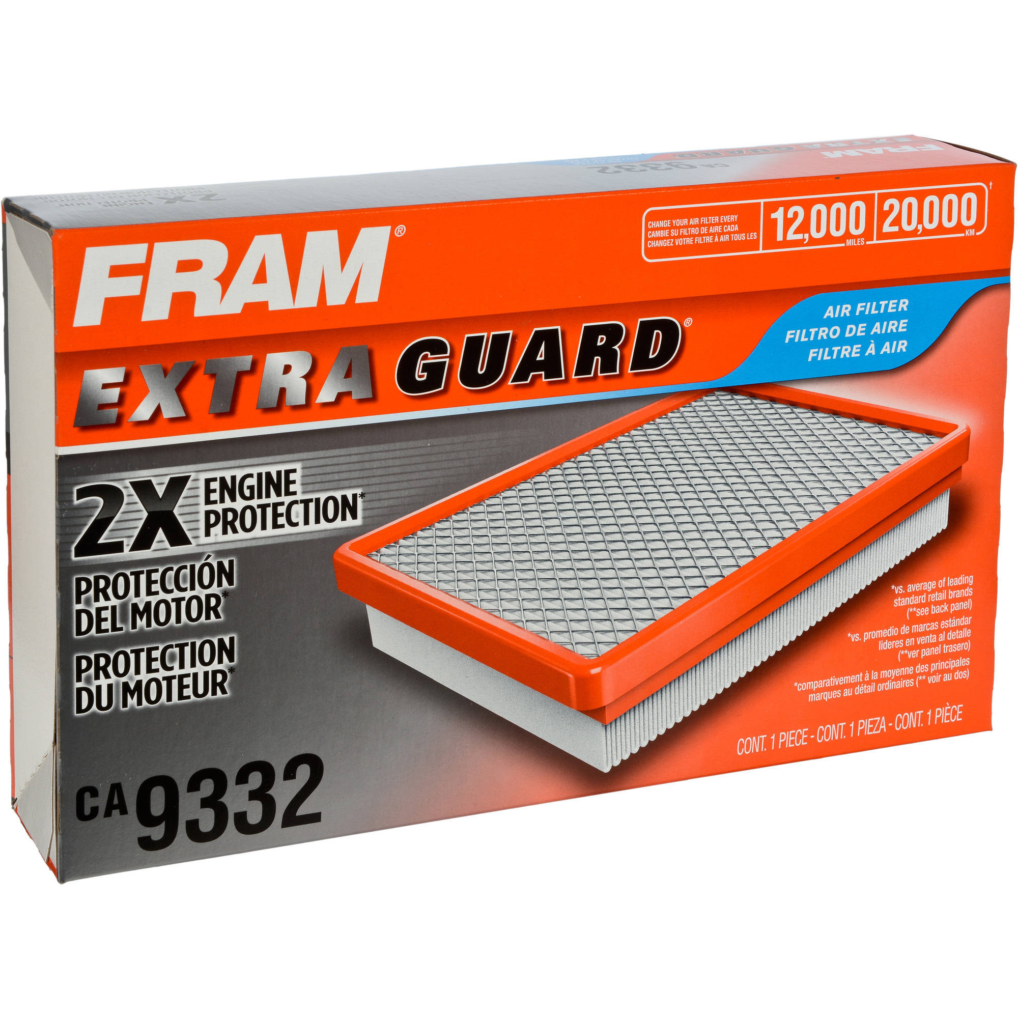 FRAM Extra Guard Air Filter, CA9332