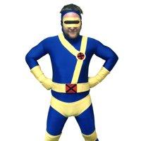 Cyclops Adult Costume Body Suit X-Men Superhero Spandex Body Suit Mens Lycra