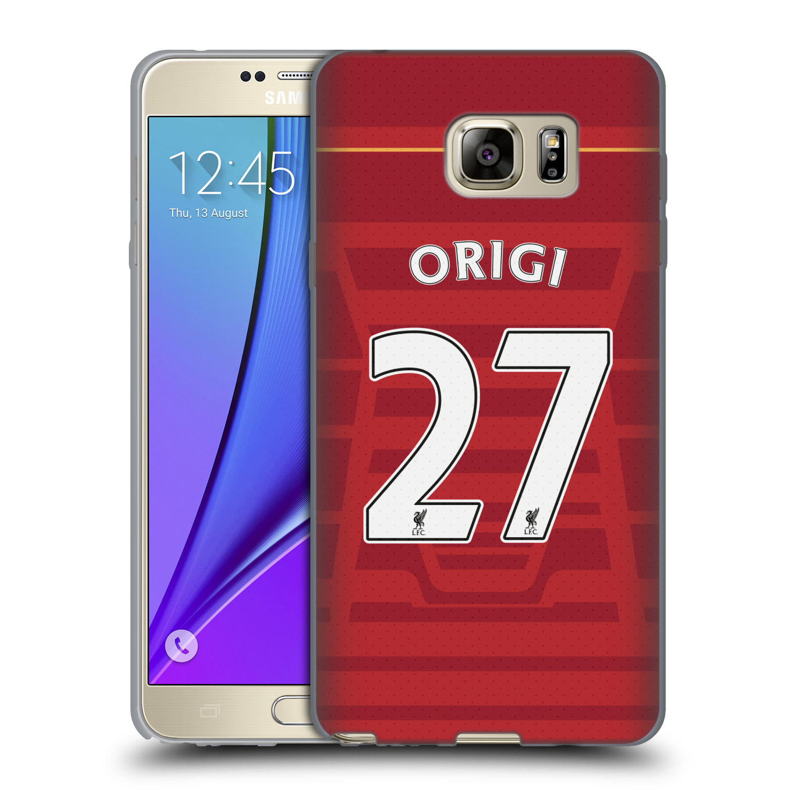 OFFICIAL LIVERPOOL FOOTBALL CLUB PLAYERS HOME KIT 16/17 GROUP 2 SOFT GEL CASE FOR SAMSUNG PHONES 1