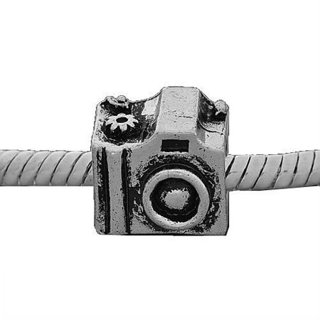 Camera Charm Bead. Compatible With Most Pandora Style Charm Bracelets.