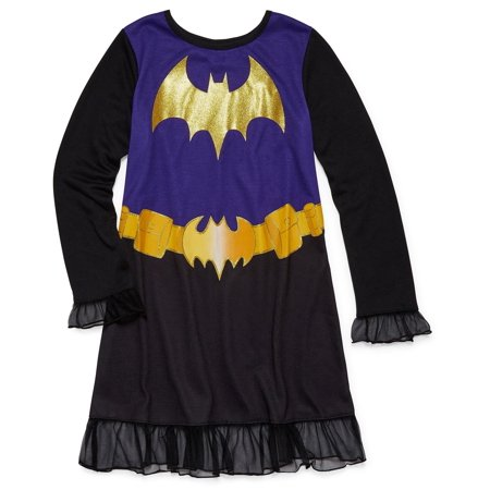 DC Comics Girls' Superhero Night Shirt Costume Pajamas Nightgown Gown - Zapp Brannigan Costume