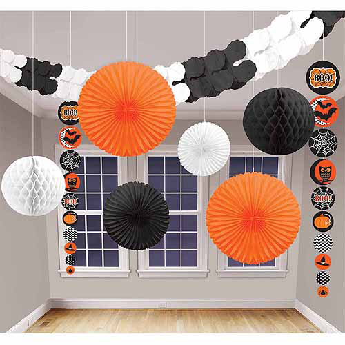 Modern Halloween Decorating Kit