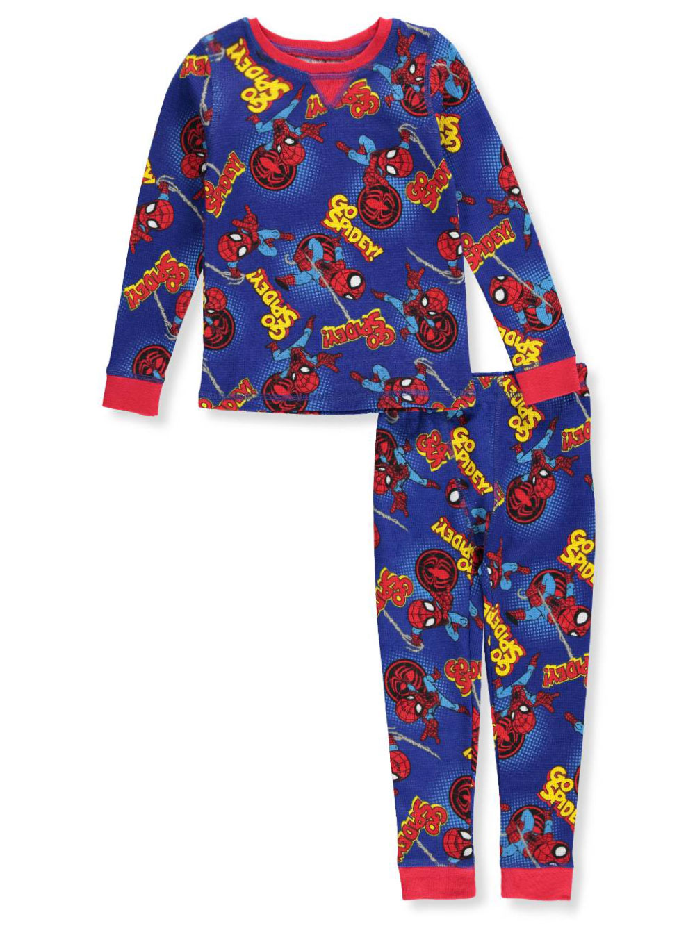 Marvel Superhero Adventures Boys' 2-Piece Thermal Long Underwear Set