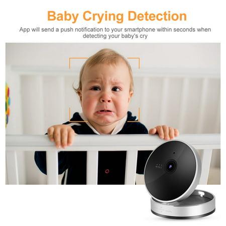 Herwey 1080P Smart WiFi Camera Network Surveillance Cube Camera Security Monitor, 1080P Cube Camera, Surveillance Cube Camera - image 8 of 8