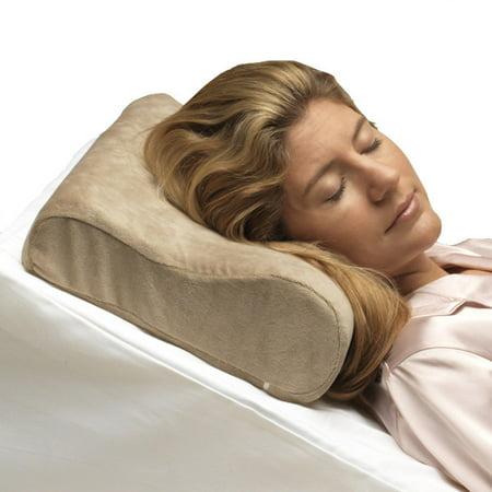 PCP Memory Foam Cervical Pillow, Beige, Full Size