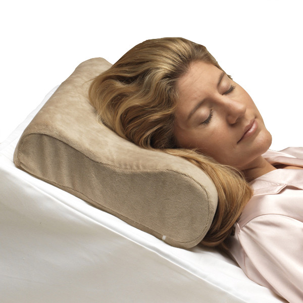 PCP Memory Foam Cervical Pillow, Beige, Full Size