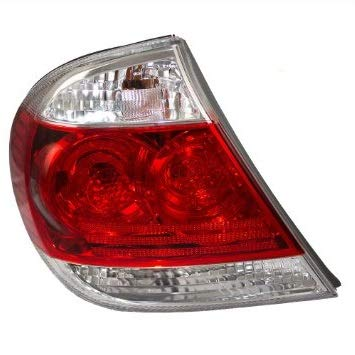 Tail Light - Cooling Direct Fit/For TO2800155 05-06 Toy Camry-Le/Xle Usa-Built Tail Lamp Assembly Lh W/Clear Lens