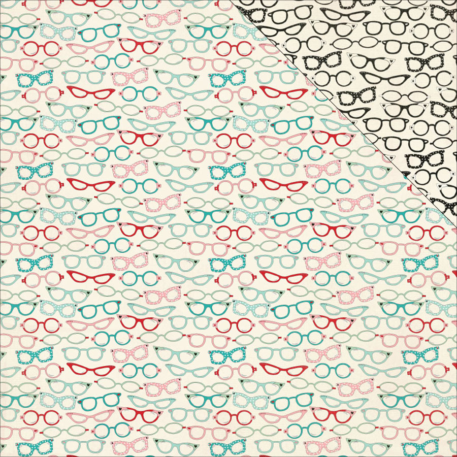 """Authentique Paper Fabulous Double-Sided Cardstock 12""""X12""""..."""