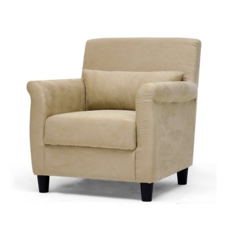 Marquis Tan Microfiber Club Chair ()