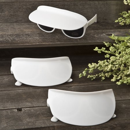 60 Unique white sunglass and visor combination (Sunglass Favors)