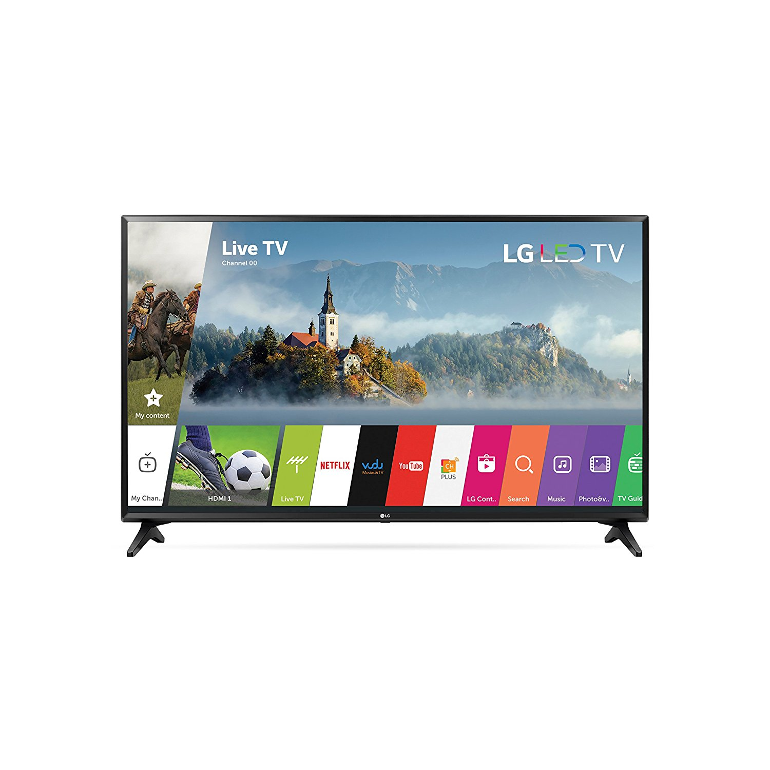 "Refurbished LG 43"" Class FHD (1080P) Smart LED TV (43LJ5500)"