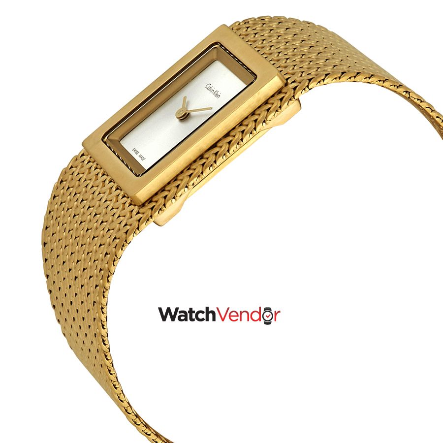 Calvin Klein Mesh Silver Dial Ladies Watch K5L13536 - image 1 of 3