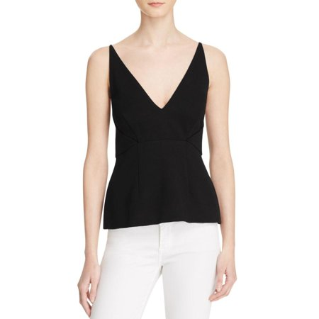 N Nicholas Womens Cut-Out Spaghetti Straps Tank Top