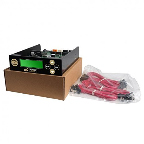 Acumen Disc 1 to 7 8 Targets SATA Controller for Multiple Blu-ray 16X / DVD 24X / CD 52X Writers Disc Copy Duplicator with
