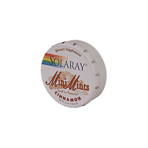Cinnamon Mini Mints Solaray 1 Tin