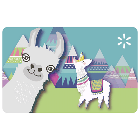 Llama Party Walmart eGift Card