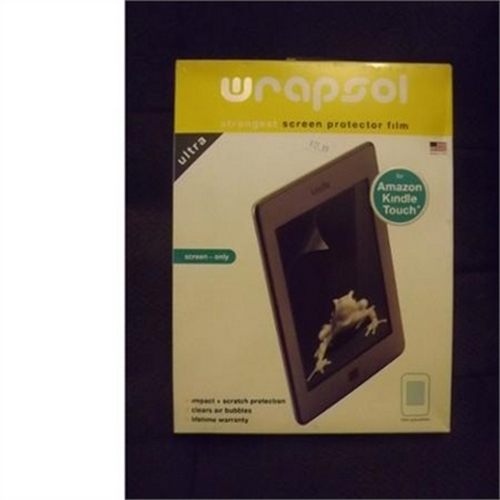 Wrapsol Ultra Screen Protector for Amazon Kindle Touch