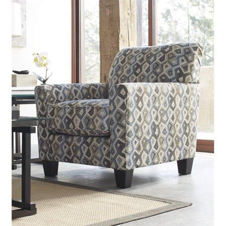 Ashley Nalini Fabric Accent Chair In Multi Walmart Com