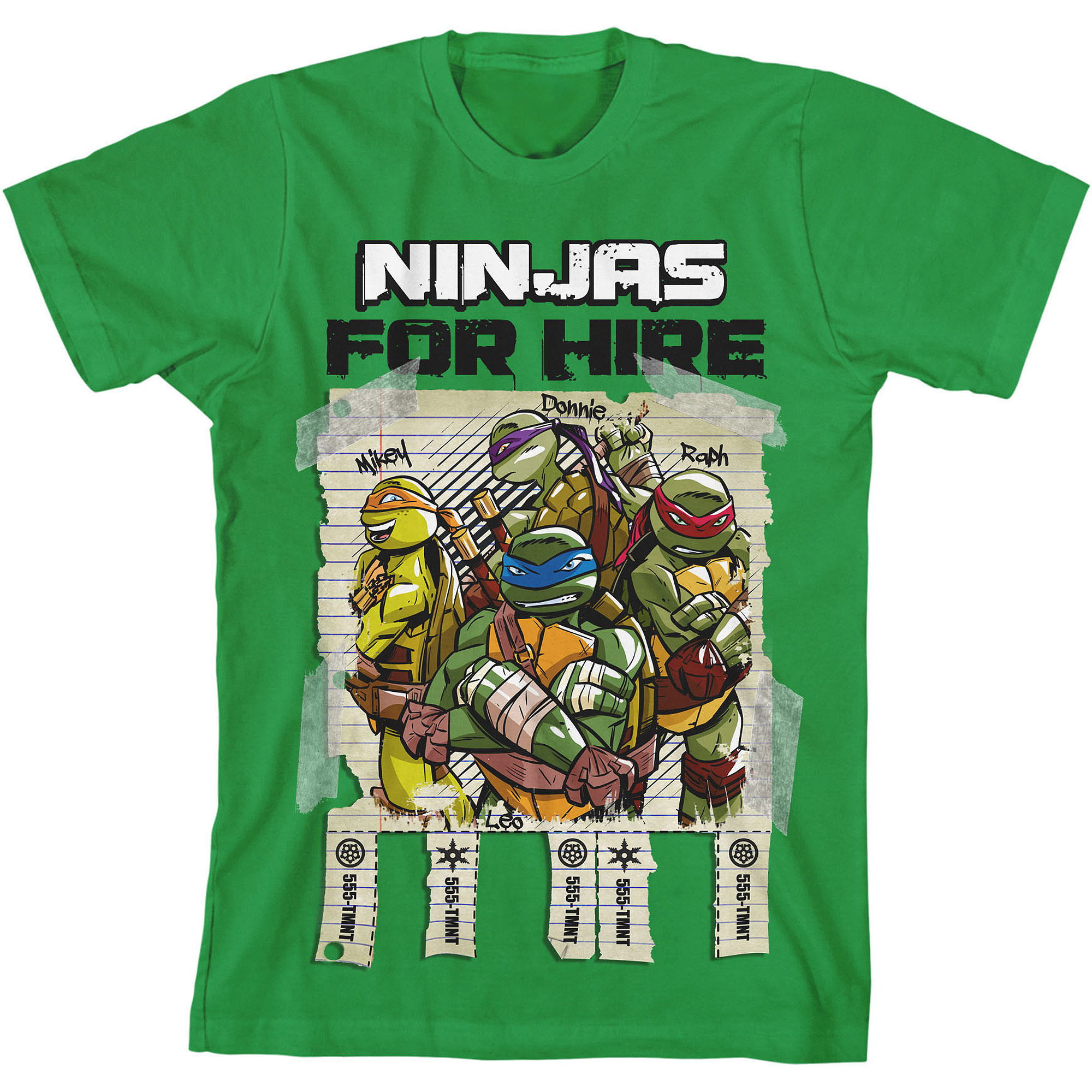 Teenage Mutant Ninja Turtles Boys' Graphic Tee