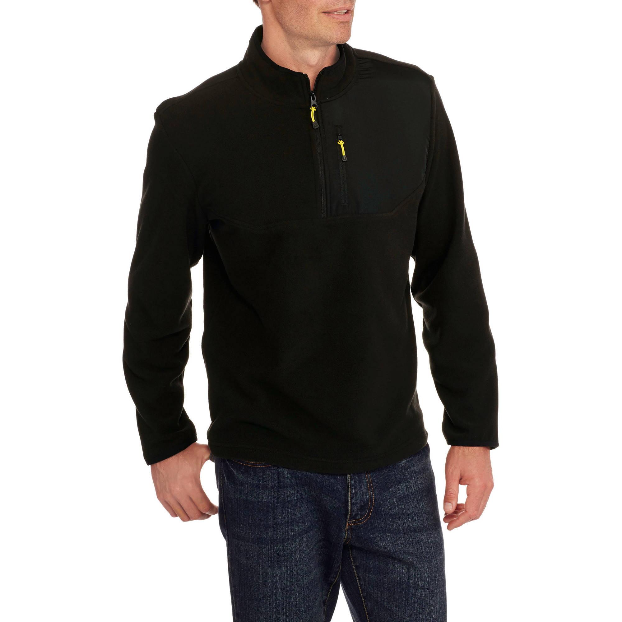 Starter Big Men's Winter 1/4 Zip Fleece Pullover