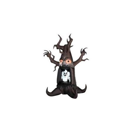 Gemmy Airblown Inflatable 7' Halloween Ghost Tree (Ghost Tree)