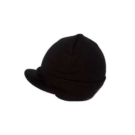 Blank Cuff Beanie Visor (Comes In Many Different Colors)- Black -  Walmart.com 636718e2abd2