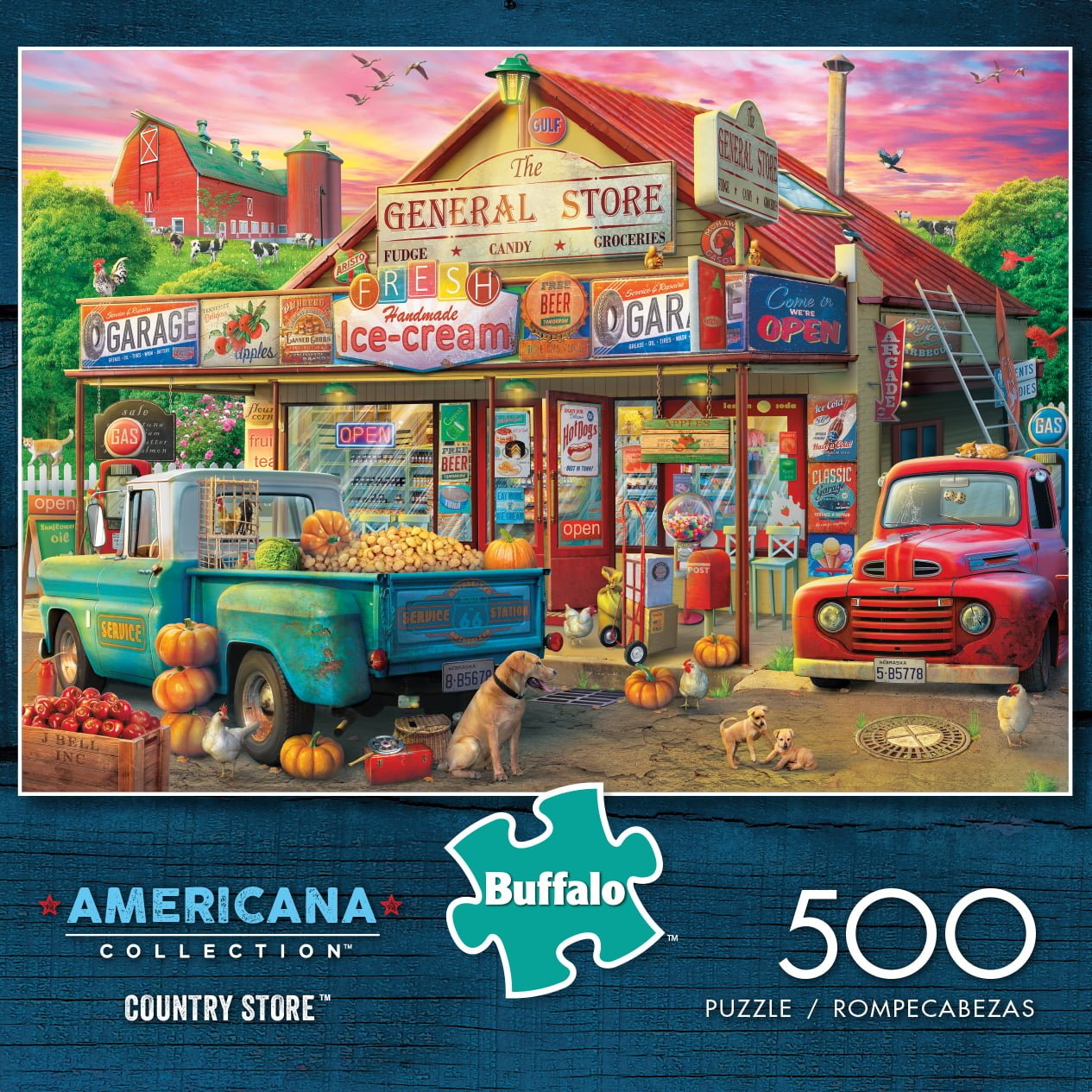 Everything is a Miracle 500 Piece Jigsaw Puzzle Buffalo Games