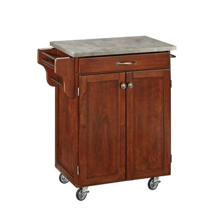 Portable Concrete Stand (Hawthorne Collections Concrete Top Kitchen Cart in)