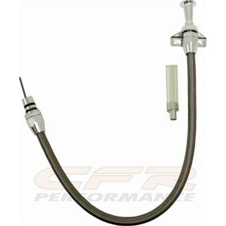 CFR CFR-3004 Chevy & Gm Turbo Th 350, Th 400 Flexible Transmission Dipstick - Firewall