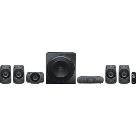 Logitech Z906 5.1 Speaker System - 500 W RMS - DTS, Dolby Digital, 3D Sound - iPod