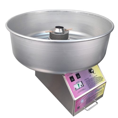 Paragon International Spin Magic 5 Cotton Candy Machine with Metal Bowl