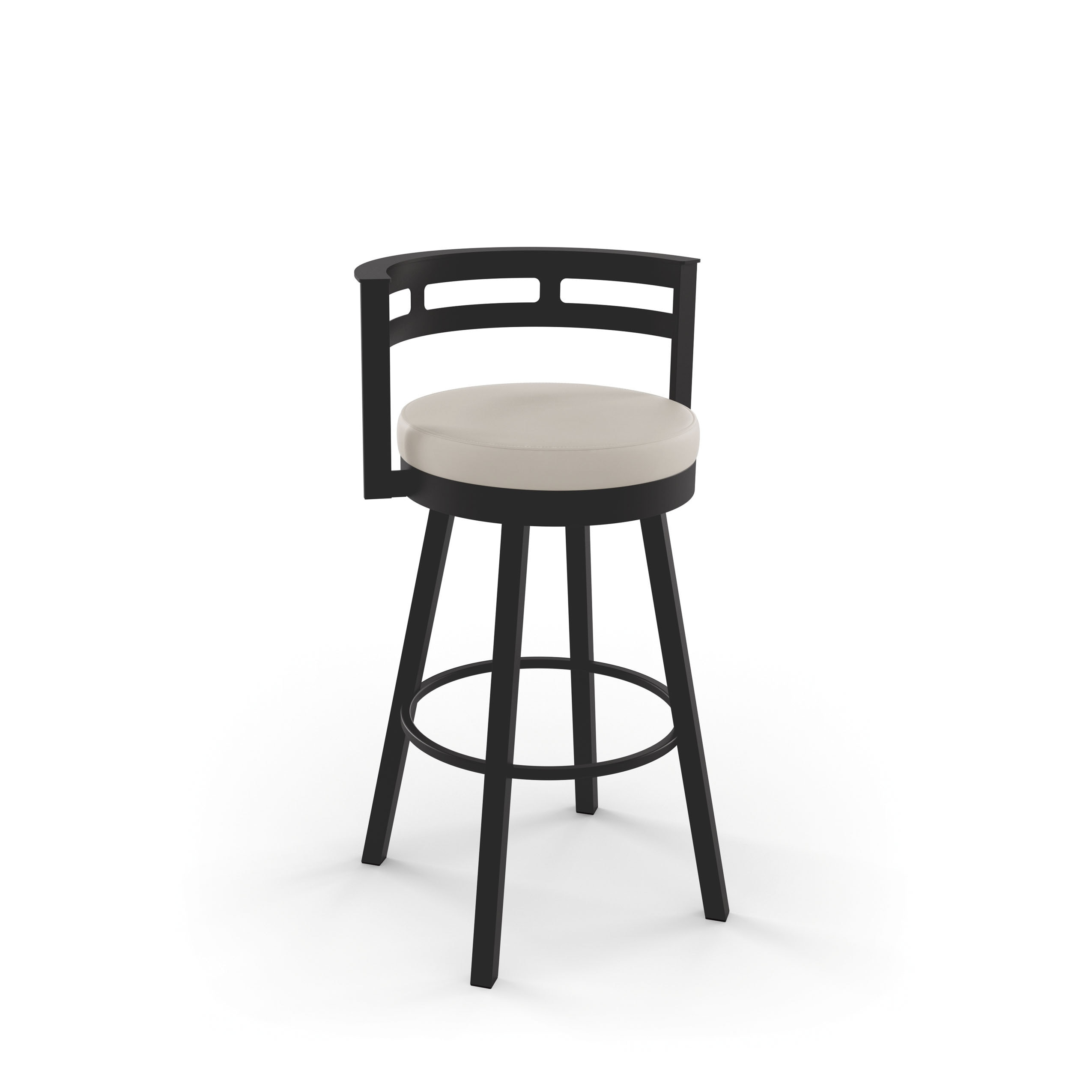 Amisco Render 26 Inch Swivel Metal Counter Stool Walmart Com